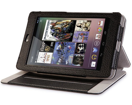 i-Blason Google Nexus 7 inch Tablet Genuine Leather Case Cover