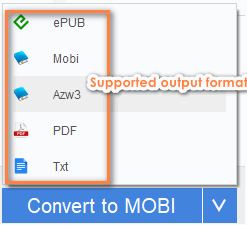convert kindle books to pdf or epub