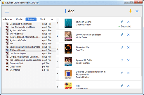 Epubor All DRM Removal – 电子书 DRM 去除工具丨反斗限免