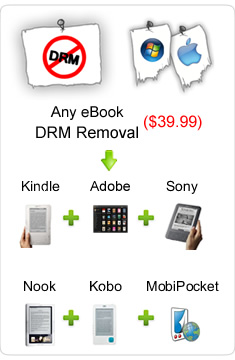Comment Supprimer DRM Kindle des eBooks.