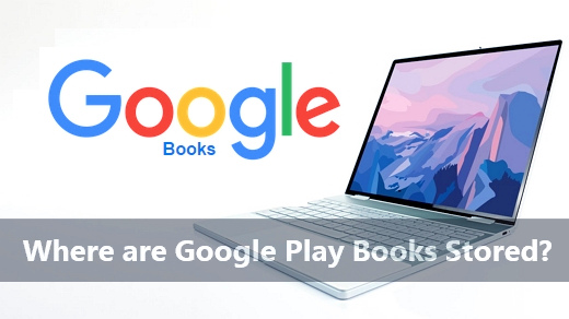Where are google play books stored