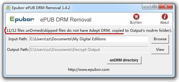 ePub Drm verwijderen