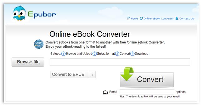 online ebook converter epub to pdf
