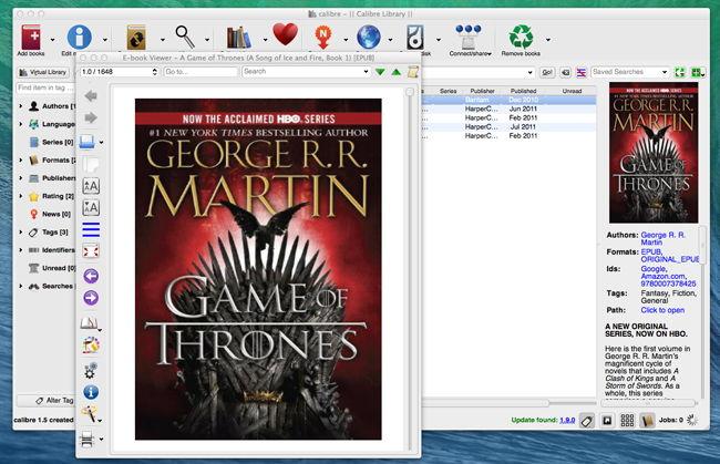 Best 4 iBooks for Mac Alternatives