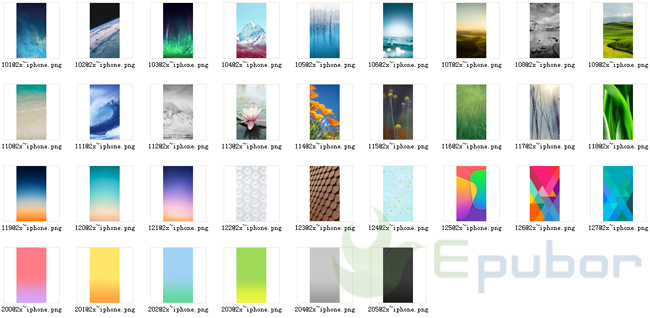 IPhone 5s IOS 7 Default Wallpaper Images Collection Free