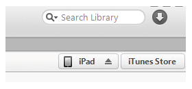 itunes device icon