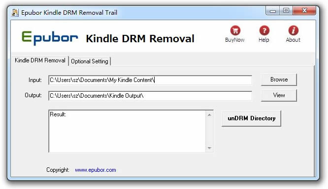 kindle ebook document extension