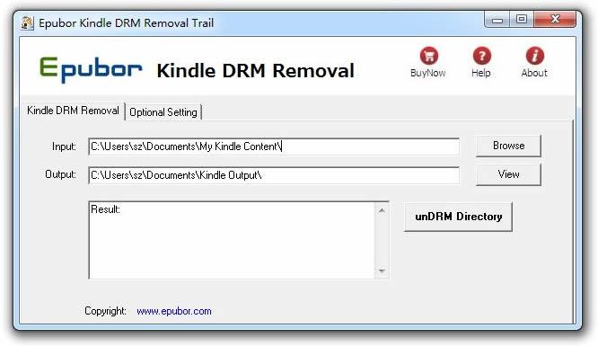 Kindle TopAZ DRM Removal
