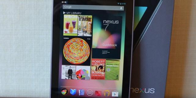 nexus 7 read ebooks