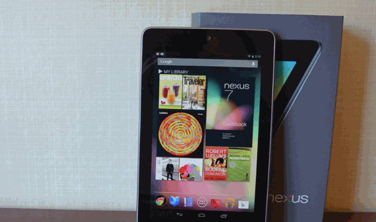nexus 7 read ebooks