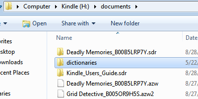 How to Change or Add Dictionary to Kindle