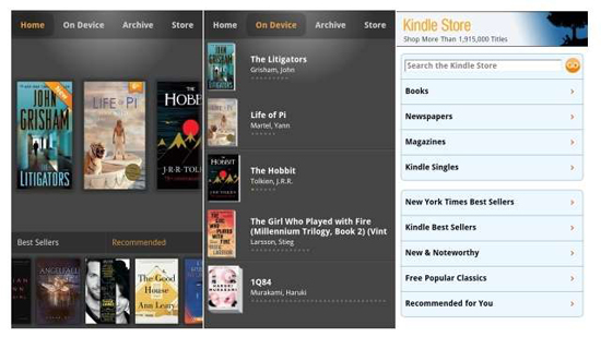 How To Read Kindle Books On Blackberry 10