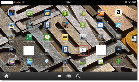 install google play on kindle fire-apps list
