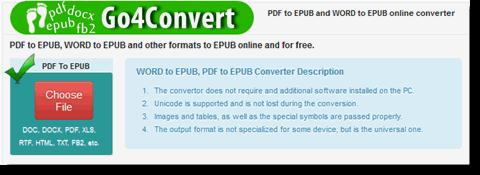 best online epub converter-go4convert