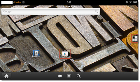how to import azw3 files to kindle app