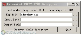 Automated inept epub decrypter