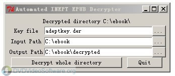 Automated inept pdf decrypter