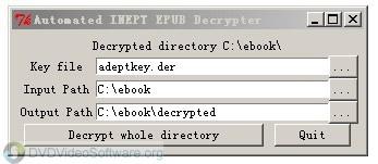 Automated inept pdf decrypter
