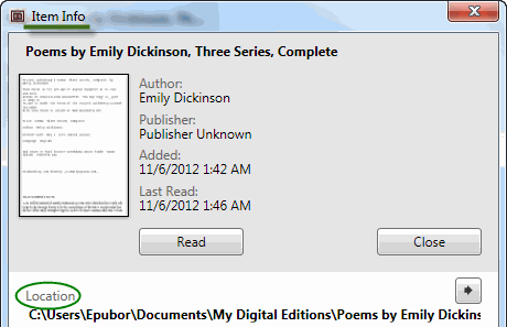 convert ACSM to EPUB - output path