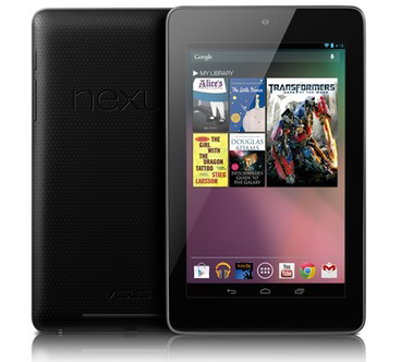 read kindle books on Nexus 7