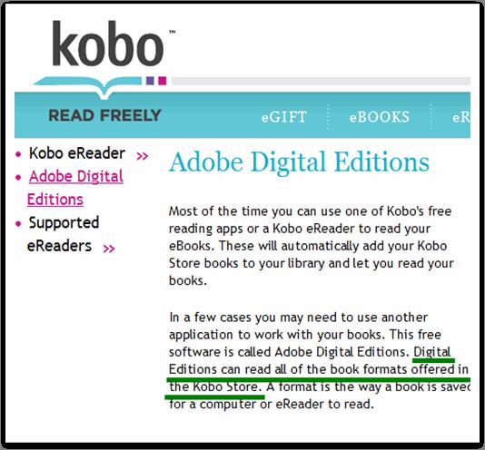 adobe drm-kobo