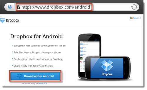 How to use Dropbox on Kindle Fire