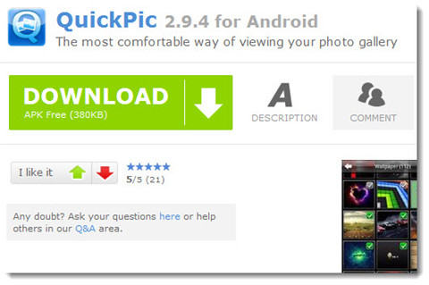 download quickpic apk