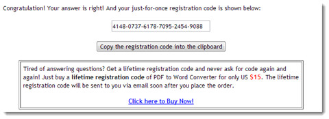 convert pdf to word-get code