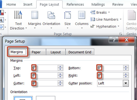 convert cbr to pdf-set page margin