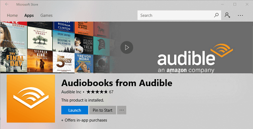 launch-audible-app