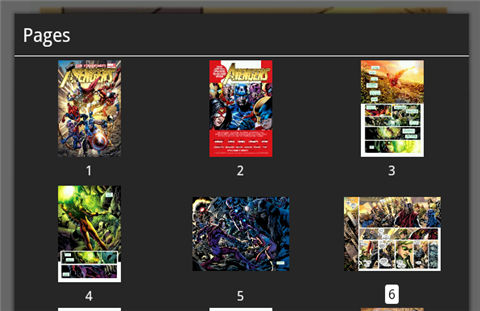 read comics on kindle fire-Page preview