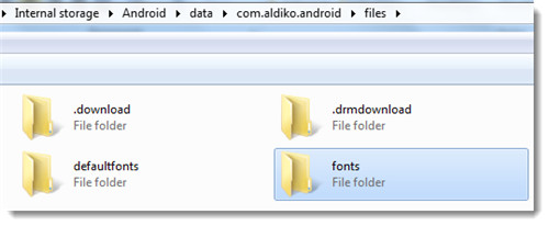 find-font-folder