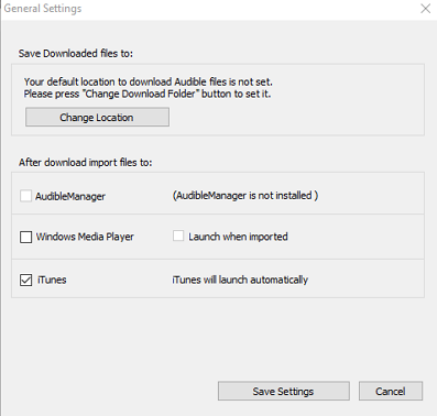 general-settings-of-audible-download-manager