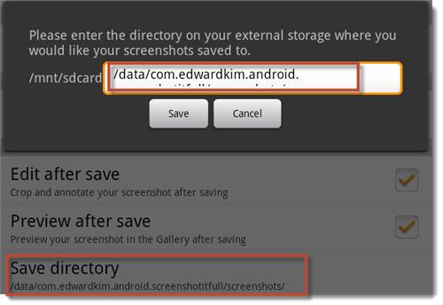 change-storage-directory