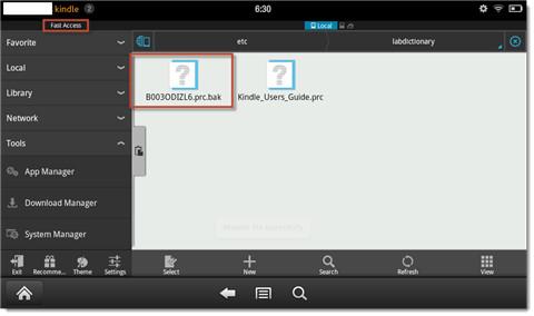 rename-default-dicionary-file