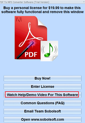 How to Convert PDF to MP3