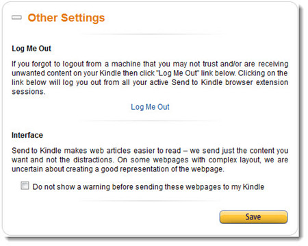 how to send documents to kindle wirelessly-log-out