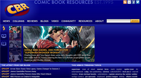 read comics on kindle fire-Comic website