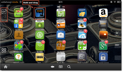 How to turn Kindle Fire into Android tablet without Rooting