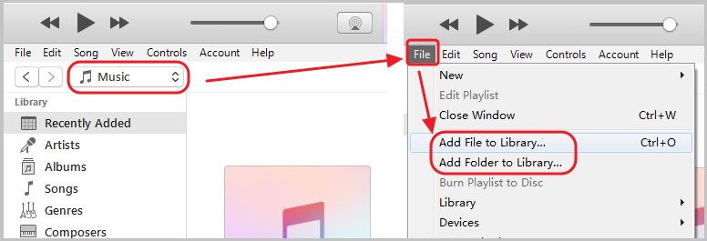 Add Converted Audiobook to iTunes