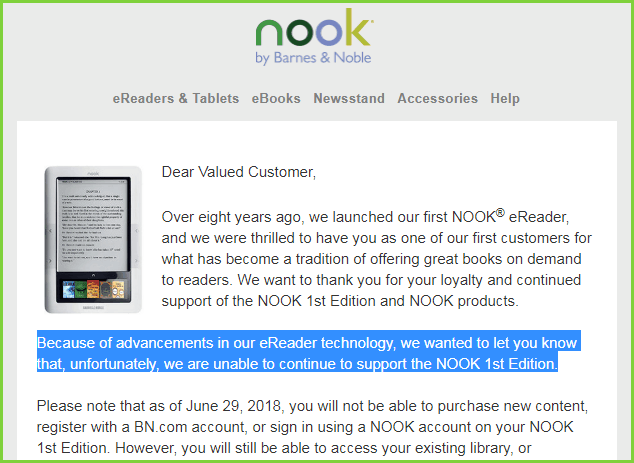 backup Nook books