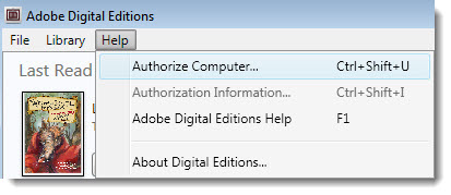Change Authorized Adobe ID