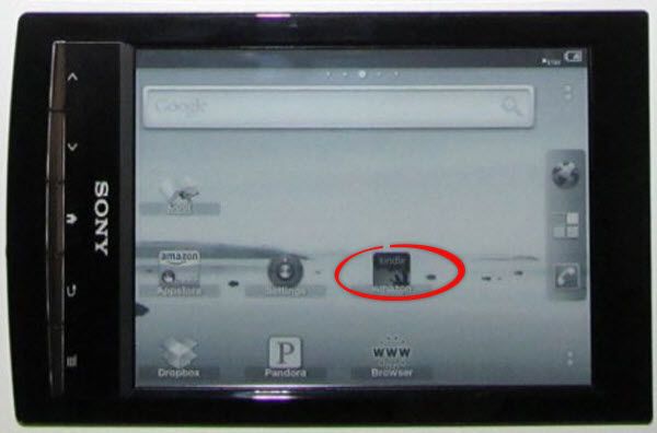 Convert Sony eReader to Android tablet