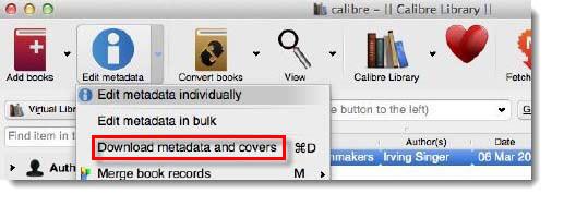 Edit EPUB Metadata
