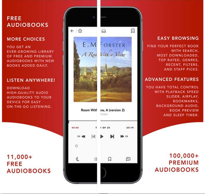 6 Best Audiobook Apps for iPhone