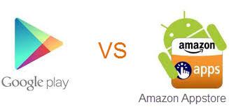 Google Play vs Amazon appstore