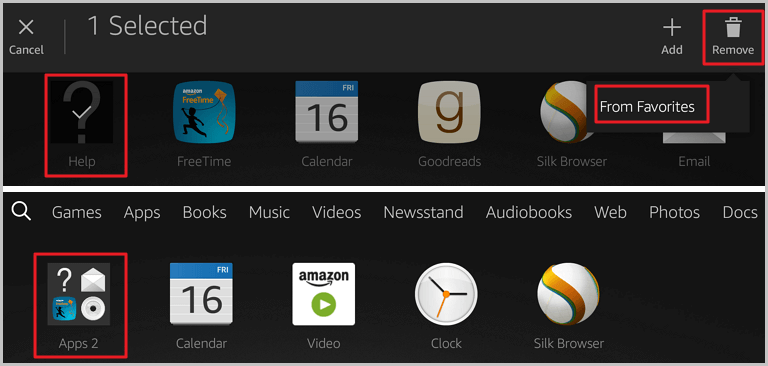How to Delete Apps on Kindle Fire