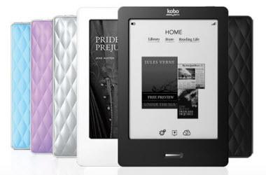 Kobo E-ink Reader