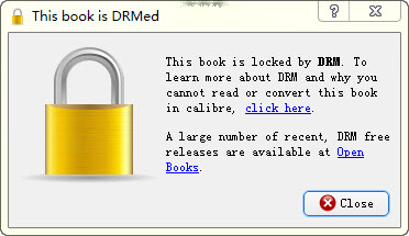 PDF book is drmed