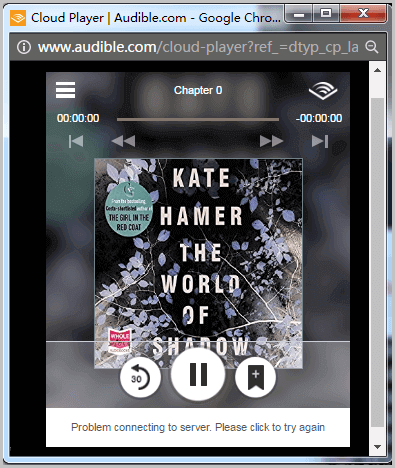 Listen to Audible Books with Audible Cloud Player